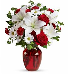 Roses: Be Mine Bouquet with Red Roses
