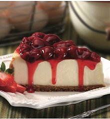 Cakes and Desserts: Strawberry Cheesecake