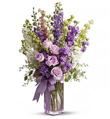 Flower Bouquets: Pretty in Purple