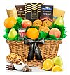 Fruit Baskets: Heartfelt Sympathy Premium Grade Fruit Basket